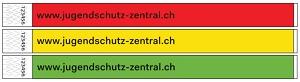 Kontrollbändeli Farbsatz 1